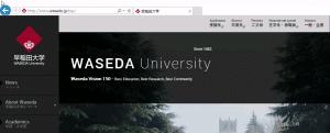 早稲田大学IE10